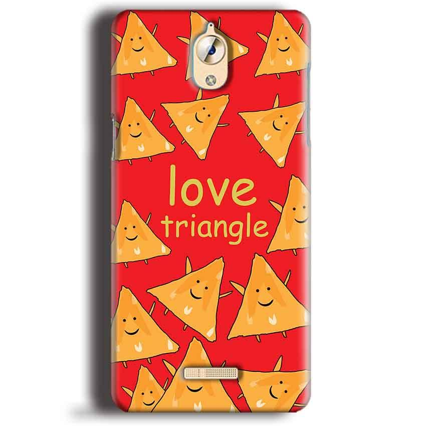 CoolPad Mega 3 Mobile Covers Cases Love Triangle - Lowest Price - Paybydaddy.com