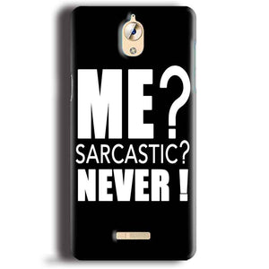 CoolPad Mega 3 Mobile Covers Cases Me sarcastic - Lowest Price - Paybydaddy.com