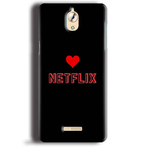 CoolPad Mega 3 Mobile Covers Cases NETFLIX WITH HEART - Lowest Price - Paybydaddy.com