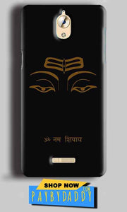 CoolPad Mega 3 Mobile Covers Cases Om Namaha Gold Black - Lowest Price - Paybydaddy.com