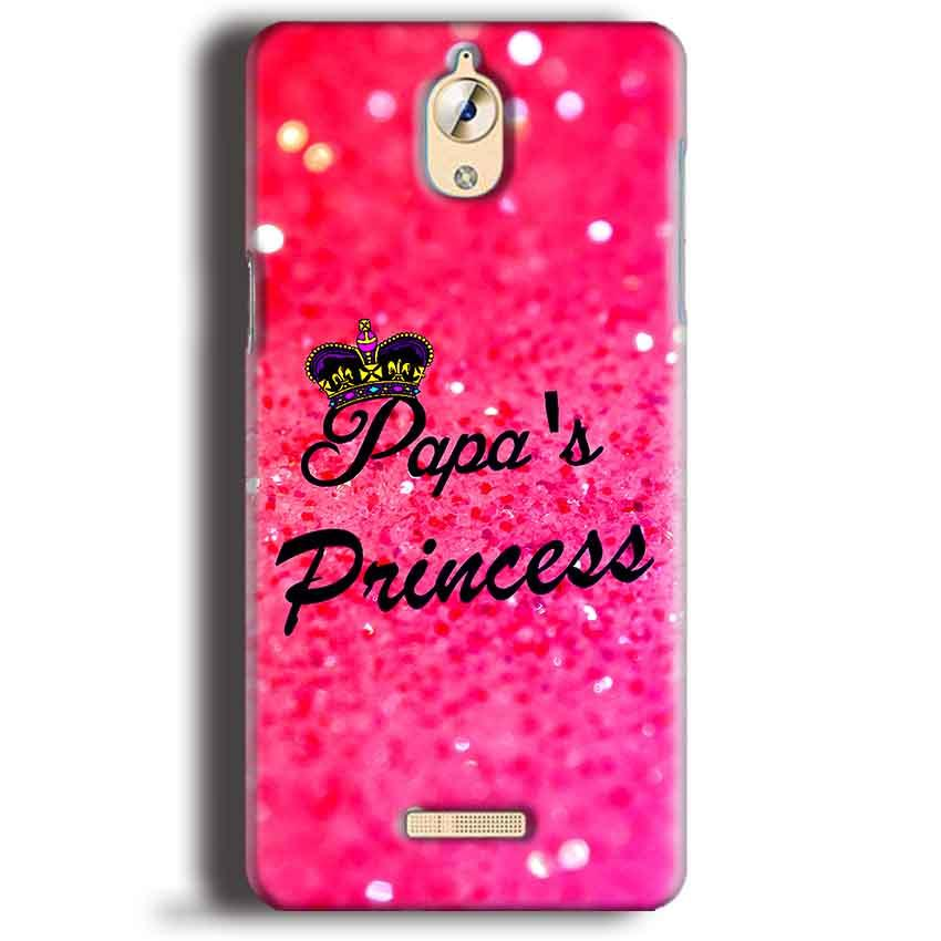 CoolPad Mega 3 Mobile Covers Cases PAPA PRINCESS - Lowest Price - Paybydaddy.com