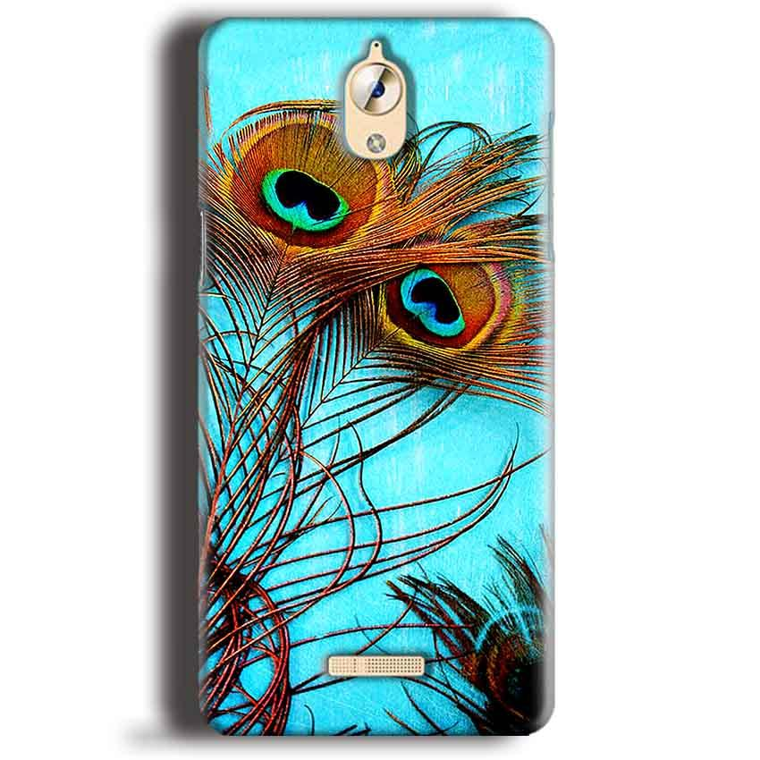 CoolPad Mega 3 Mobile Covers Cases Peacock blue wings - Lowest Price - Paybydaddy.com
