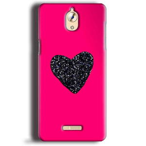CoolPad Mega 3 Mobile Covers Cases Pink Glitter Heart - Lowest Price - Paybydaddy.com