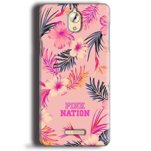 CoolPad Mega 3 Mobile Covers Cases Pink nation - Lowest Price - Paybydaddy.com