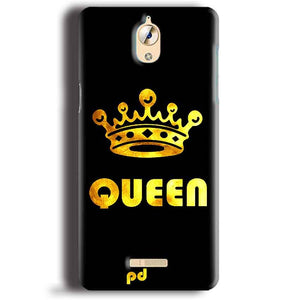 CoolPad Mega 3 Mobile Covers Cases Queen With Crown in gold - Lowest Price - Paybydaddy.com