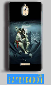 CoolPad Mega 3 Shiva Smoking Mobile Back Cover Case