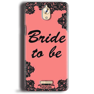 CoolPad Mega 3 Mobile Covers Cases Mobile Covers Cases bride to be with ring Black Pink - Lowest Price - Paybydaddy.com