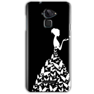 CoolPad Note 3 Mobile Covers Cases Butterfly black girl - Lowest Price - Paybydaddy.com