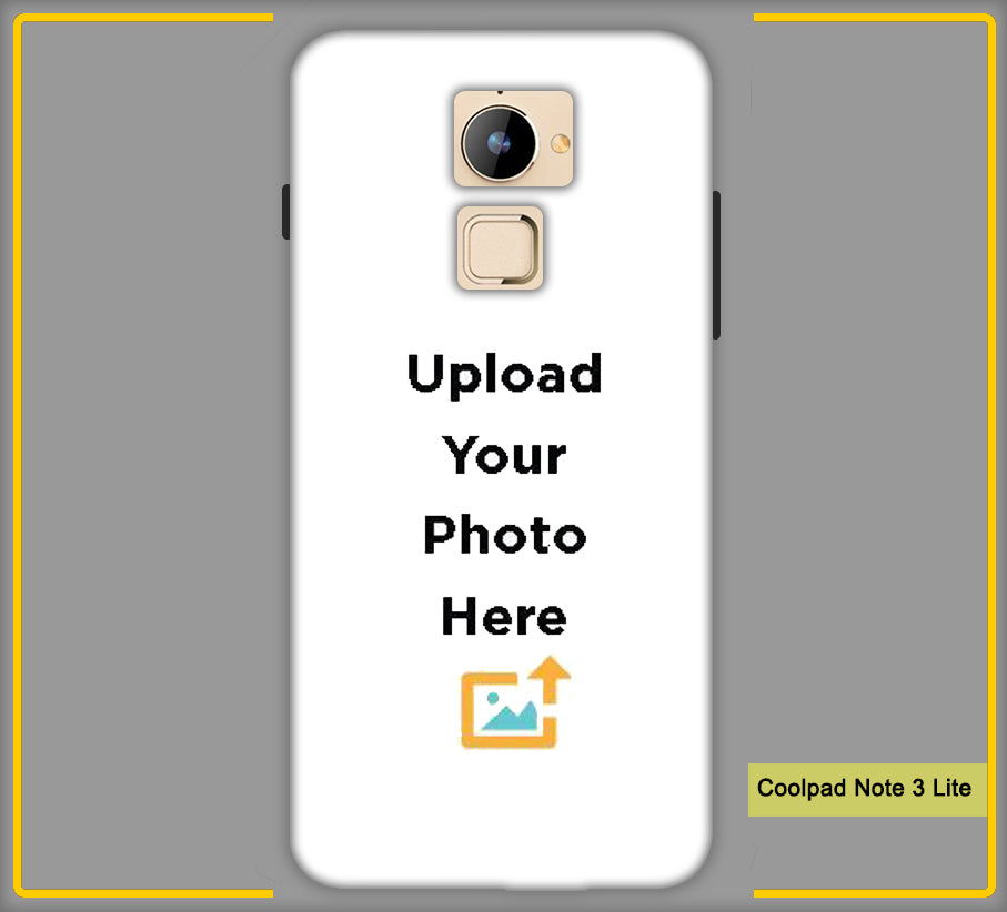 Customized CoolPad Note 3 Lite Mobile Phone Covers & Back Covers with your Text & Photo