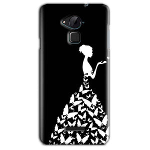 CoolPad Note 3 Lite Mobile Covers Cases Butterfly black girl - Lowest Price - Paybydaddy.com