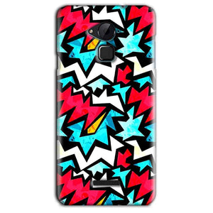 CoolPad Note 3 Lite Mobile Covers Cases Colored Design Pattern - Lowest Price - Paybydaddy.com
