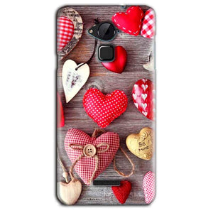 CoolPad Note 3 Lite Mobile Covers Cases Hearts- Lowest Price - Paybydaddy.com