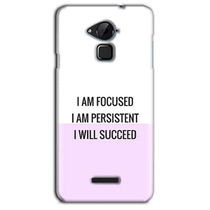 CoolPad Note 3 Lite Mobile Covers Cases I am Focused - Lowest Price - Paybydaddy.com