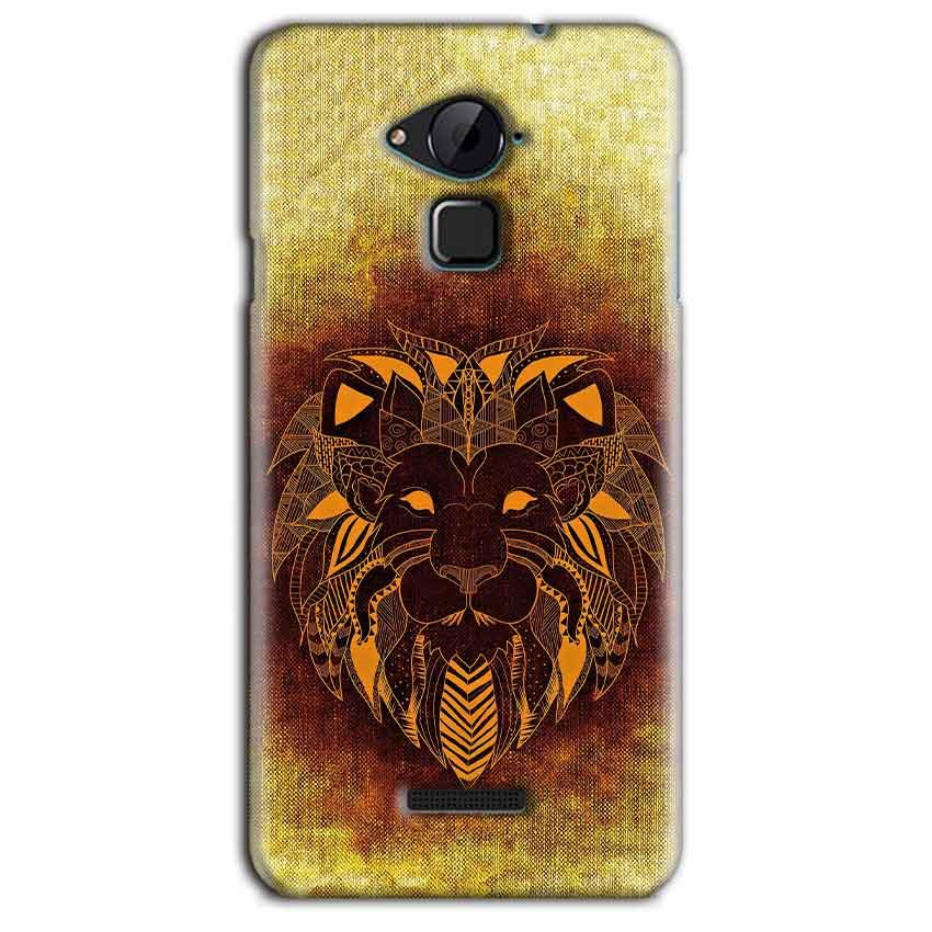 CoolPad Note 3 Lite Mobile Covers Cases Lion face art - Lowest Price - Paybydaddy.com