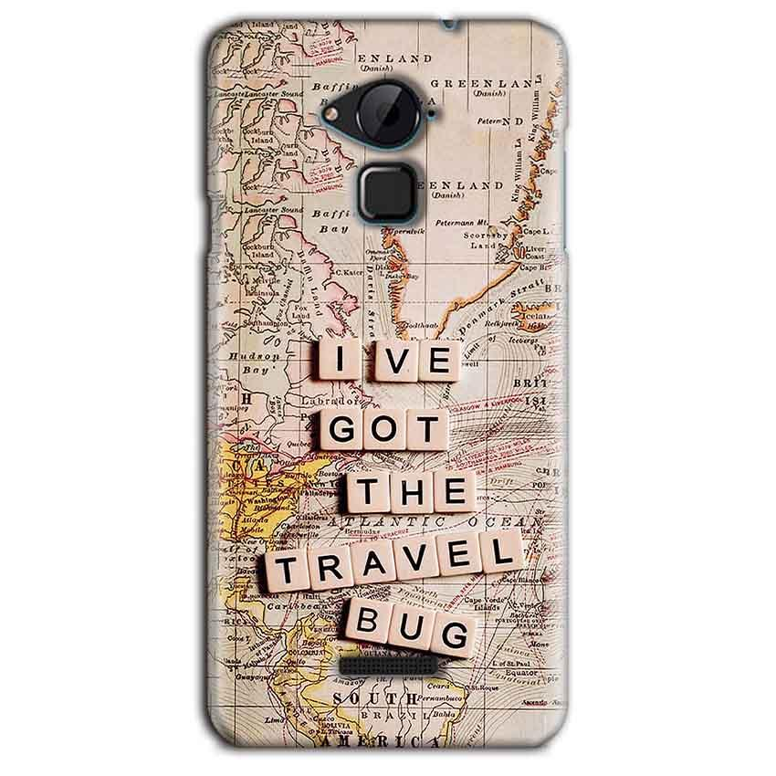 CoolPad Note 3 Lite Mobile Covers Cases Live Travel Bug - Lowest Price - Paybydaddy.com