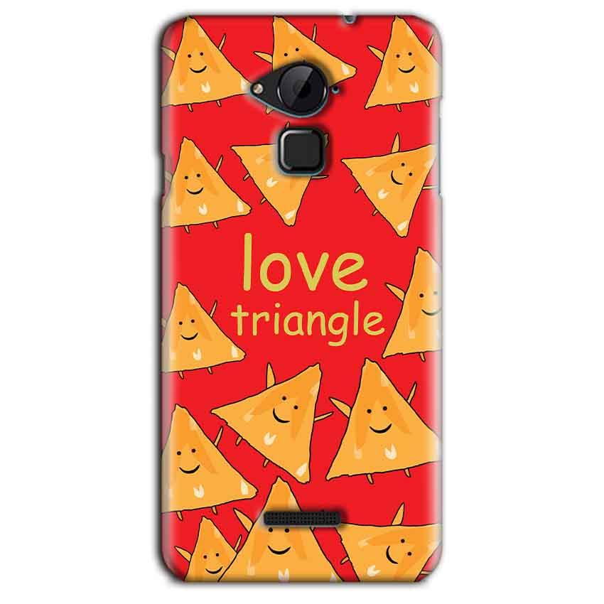 CoolPad Note 3 Lite Mobile Covers Cases Love Triangle - Lowest Price - Paybydaddy.com