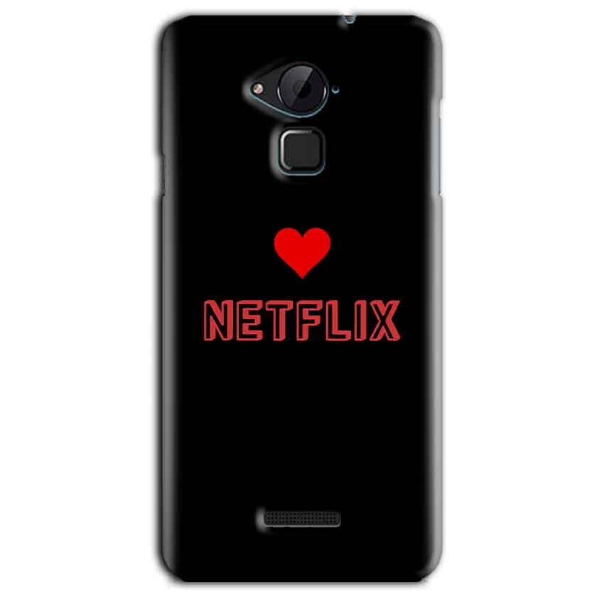 CoolPad Note 3 Lite Mobile Covers Cases NETFLIX WITH HEART - Lowest Price - Paybydaddy.com