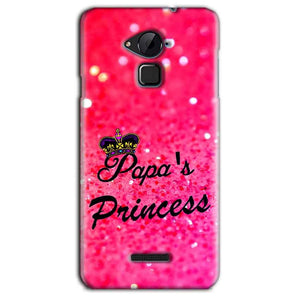 CoolPad Note 3 Lite Mobile Covers Cases PAPA PRINCESS - Lowest Price - Paybydaddy.com