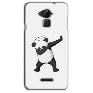 CoolPad Note 3 Lite Mobile Covers Cases Panda Dab - Lowest Price - Paybydaddy.com