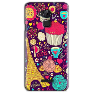 CoolPad Note 3 Lite Mobile Covers Cases Paris Sweet love - Lowest Price - Paybydaddy.com