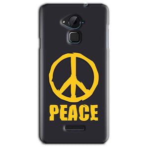CoolPad Note 3 Lite Mobile Covers Cases Peace Blue Yellow - Lowest Price - Paybydaddy.com