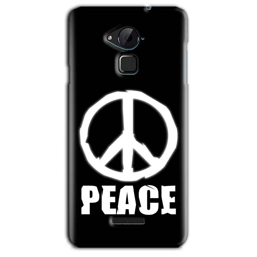 CoolPad Note 3 Lite Mobile Covers Cases Peace Sign In White - Lowest Price - Paybydaddy.com