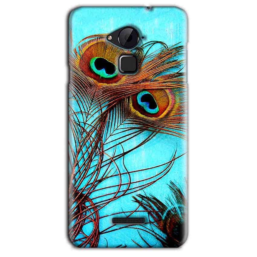 CoolPad Note 3 Lite Mobile Covers Cases Peacock blue wings - Lowest Price - Paybydaddy.com