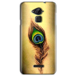 CoolPad Note 3 Lite Mobile Covers Cases Peacock coloured art - Lowest Price - Paybydaddy.com