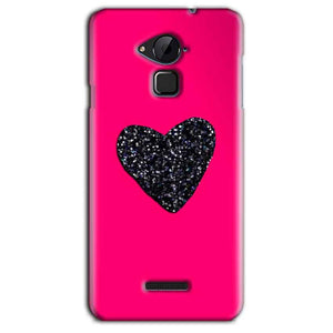 CoolPad Note 3 Lite Mobile Covers Cases Pink Glitter Heart - Lowest Price - Paybydaddy.com