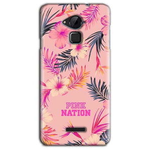 CoolPad Note 3 Lite Mobile Covers Cases Pink nation - Lowest Price - Paybydaddy.com