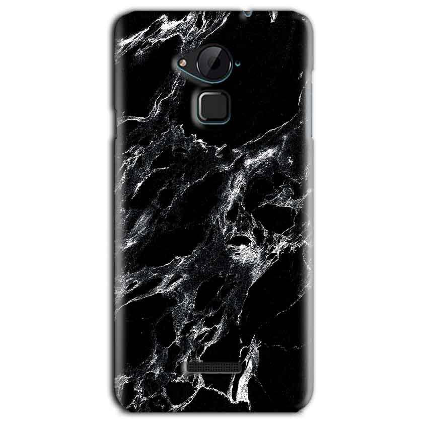 CoolPad Note 3 Lite Mobile Covers Cases Pure Black Marble Texture - Lowest Price - Paybydaddy.com