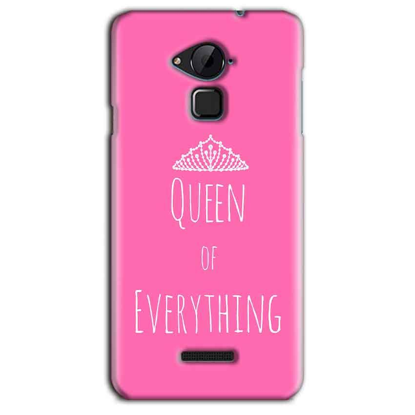 CoolPad Note 3 Lite Mobile Covers Cases Queen Of Everything Pink White - Lowest Price - Paybydaddy.com