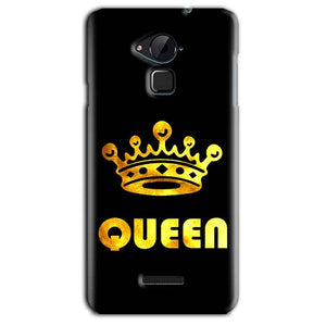 CoolPad Note 3 Lite Mobile Covers Cases Queen With Crown in gold - Lowest Price - Paybydaddy.com