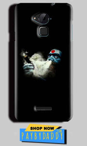 CoolPad Note 3 Lite Mobile Covers Cases Shiva Aghori Smoking - Lowest Price - Paybydaddy.com