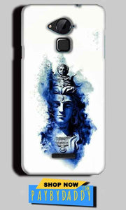 CoolPad Note 3 Lite Mobile Covers Cases Shiva Blue White - Lowest Price - Paybydaddy.com
