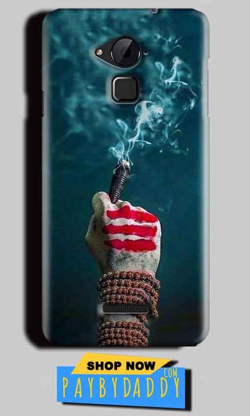 CoolPad Note 3 Lite Mobile Covers Cases Shiva Hand With Clilam - Lowest Price - Paybydaddy.com
