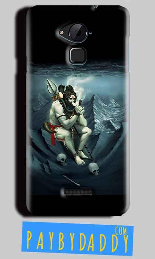 CoolPad Note 3 Lite Shiva Smoking Mobile Back Cover Case