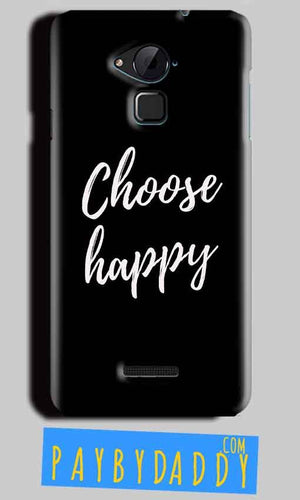 CoolPad Note 3 Lite Mobile Covers Cases Choose happy - Lowest Price - Paybydaddy.com