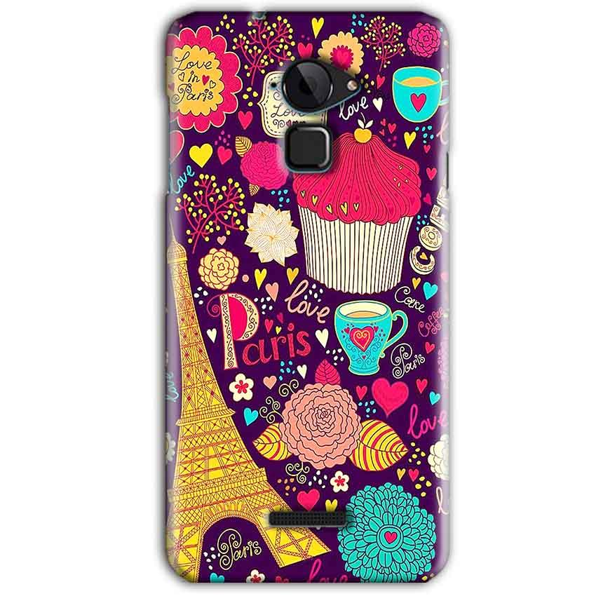 CoolPad Note 3 Mobile Covers Cases Paris Sweet love - Lowest Price - Paybydaddy.com