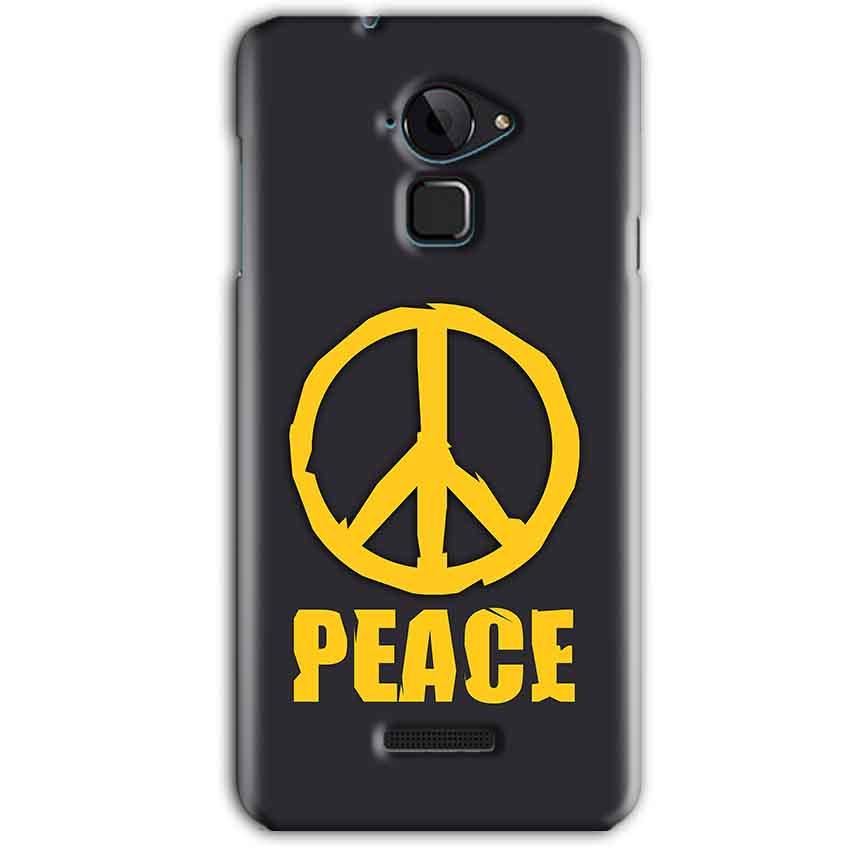 CoolPad Note 3 Mobile Covers Cases Peace Blue Yellow - Lowest Price - Paybydaddy.com