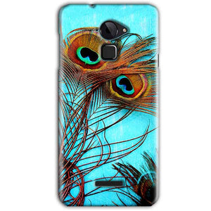 CoolPad Note 3 Mobile Covers Cases Peacock blue wings - Lowest Price - Paybydaddy.com