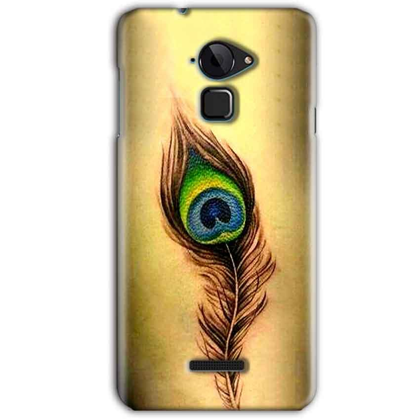 CoolPad Note 3 Mobile Covers Cases Peacock coloured art - Lowest Price - Paybydaddy.com