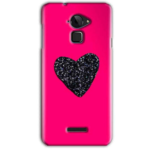 CoolPad Note 3 Mobile Covers Cases Pink Glitter Heart - Lowest Price - Paybydaddy.com