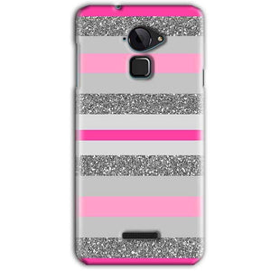 CoolPad Note 3 Mobile Covers Cases Pink colour pattern - Lowest Price - Paybydaddy.com