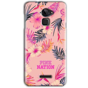 CoolPad Note 3 Mobile Covers Cases Pink nation - Lowest Price - Paybydaddy.com
