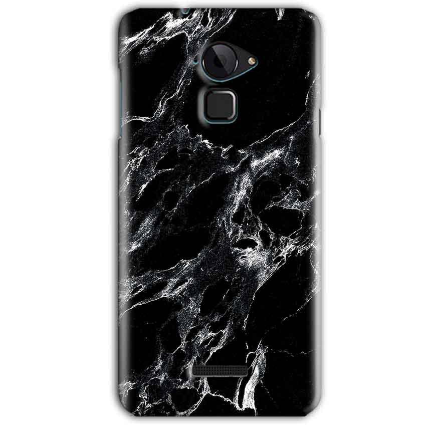 CoolPad Note 3 Mobile Covers Cases Pure Black Marble Texture - Lowest Price - Paybydaddy.com