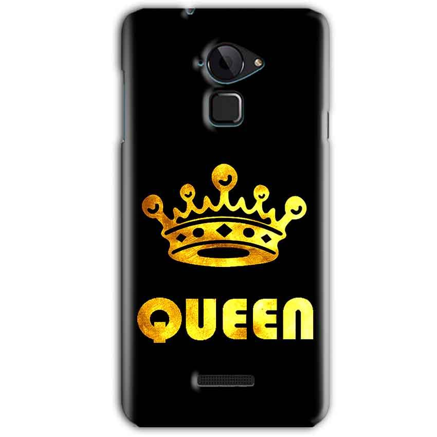 CoolPad Note 3 Mobile Covers Cases Queen With Crown in gold - Lowest Price - Paybydaddy.com