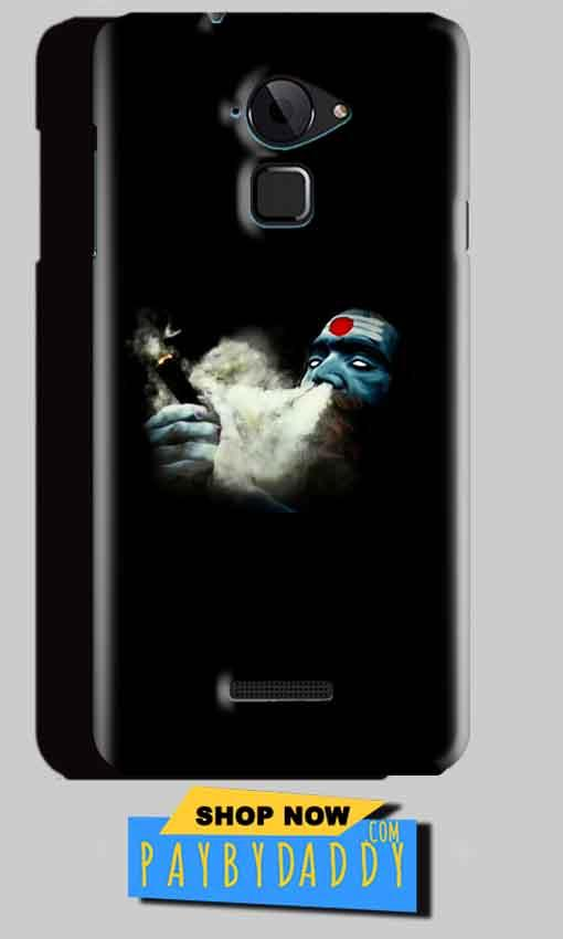 CoolPad Note 3 Mobile Covers Cases Shiva Aghori Smoking - Lowest Price - Paybydaddy.com