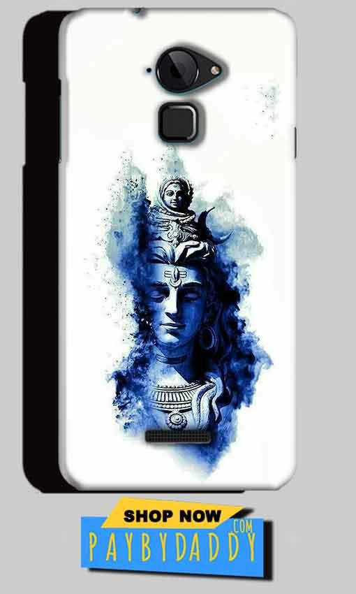CoolPad Note 3 Mobile Covers Cases Shiva Blue White - Lowest Price - Paybydaddy.com