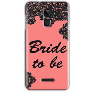 CoolPad Note 3 Mobile Covers Cases Mobile Covers Cases bride to be with ring Black Pink - Lowest Price - Paybydaddy.com